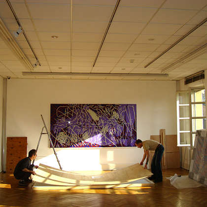 Image 3 - zExpo Mulhouse 2011 Installation, JP Sergent