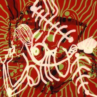 """""""MAYA #6"""", ACRYLIC SILKSCREEN ON PLEXIGLASS, 2002, 55""""X55"""""""