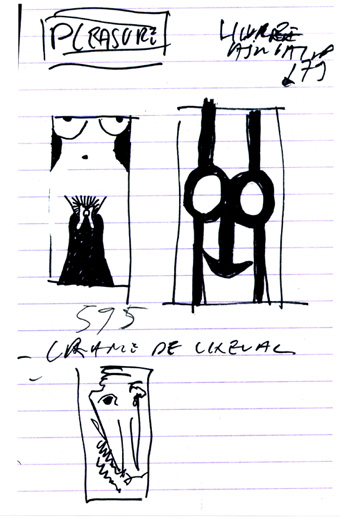 Jean-Pierre Sergent Sketches de New York, 1993